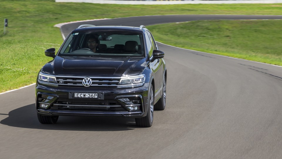 Drive Car of the Year Best Medium SUV 2021 finalist Volkswagen Tiguan front exterior view