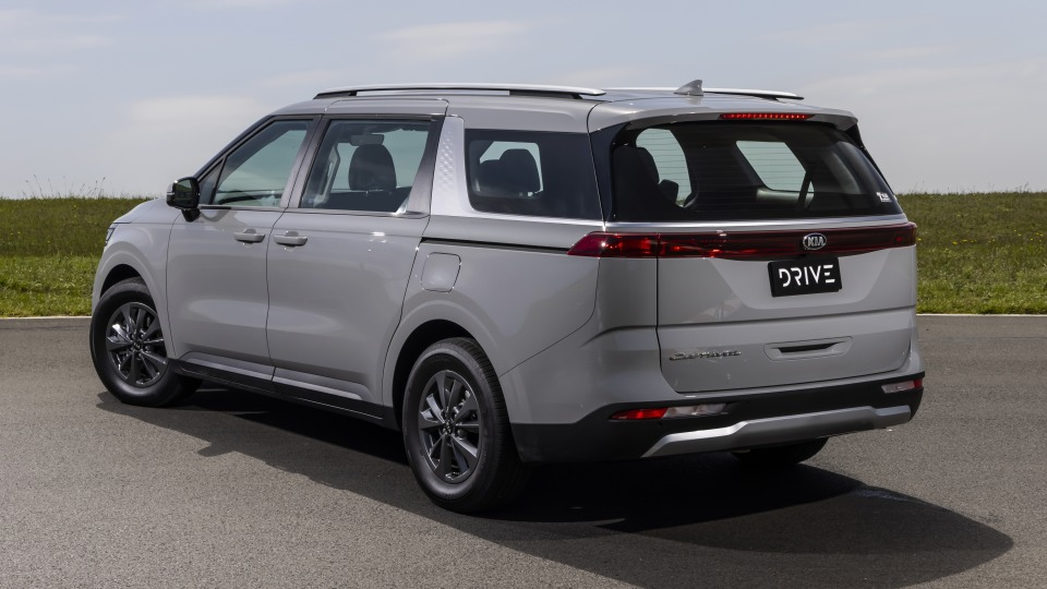 Drive Car of the Year Best People Mover 2021 finalist Kia Carnival rear exterior view