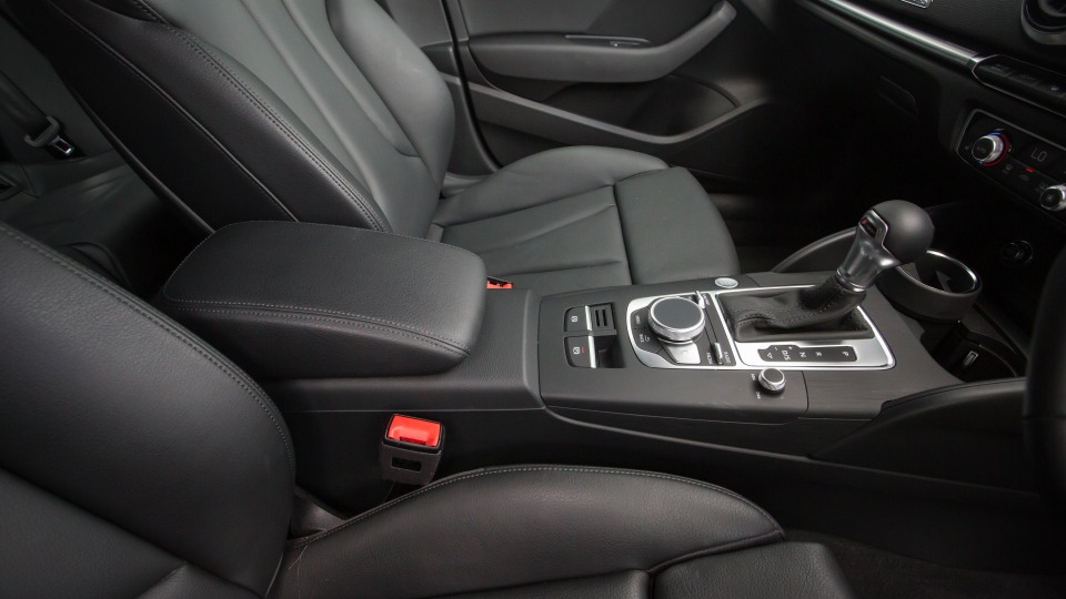 Drive Car of the Year Best Small Luxury Car 2021 finalist Audi A3 front seating