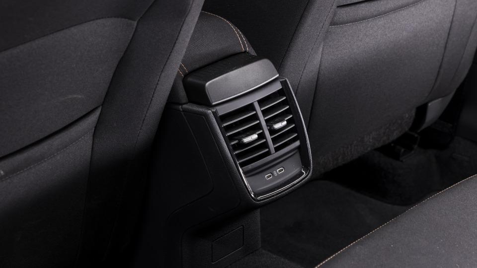 Drive Car of the Year Best Small SUV 2021 finalist Skoda Kamiq rear interior.