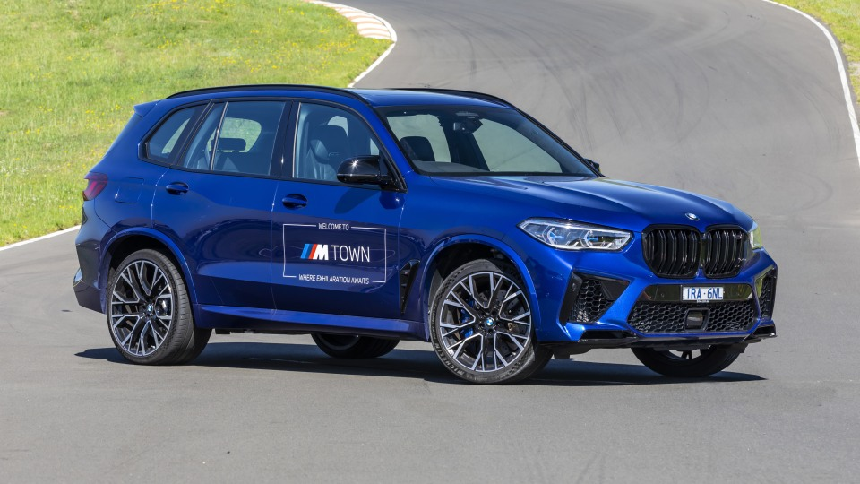 Drive Car of the Year Sports Performance SUV 2021 finalist BMW X5 front exterior view