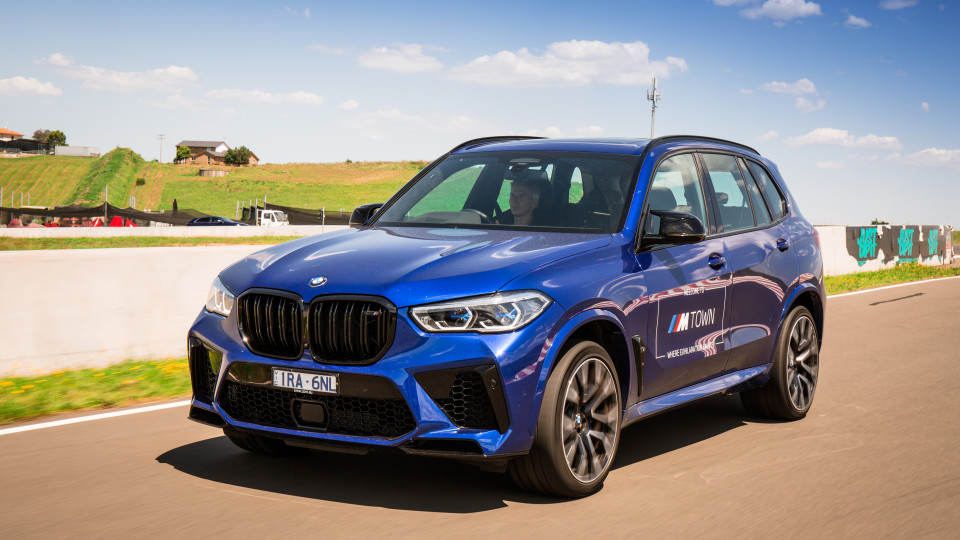 Drive 2021 Sports Performance SUV finalist BMW X5 front exterior viewDrive Car of the Year Sports Performance SUV 2021 finalist BMW X5 front exterior view