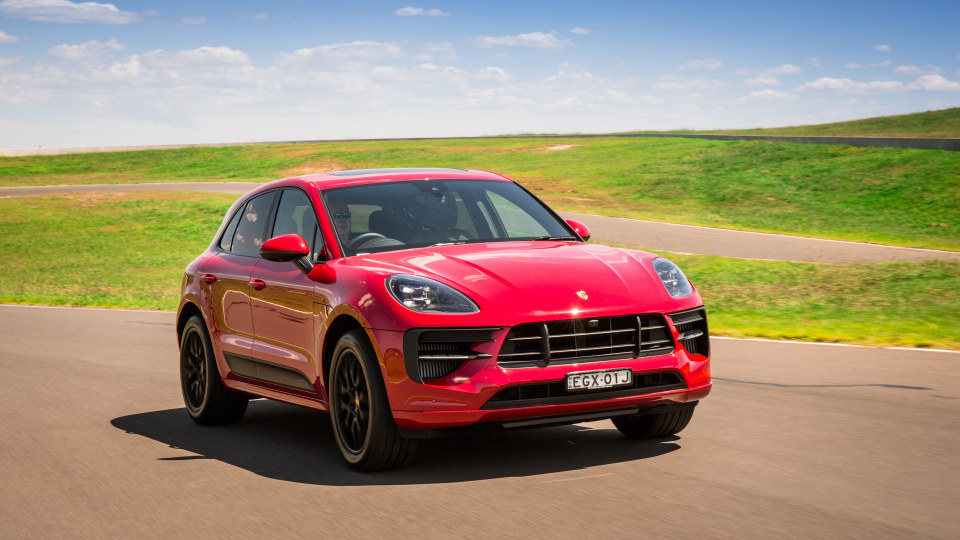 Drive Car of the Year Sports Performance SUV 2021 finalist Porsche Macan GTS front exterior view