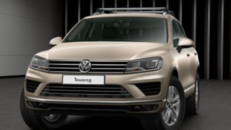 Volkswagen Touareg Adventure special edition revealed