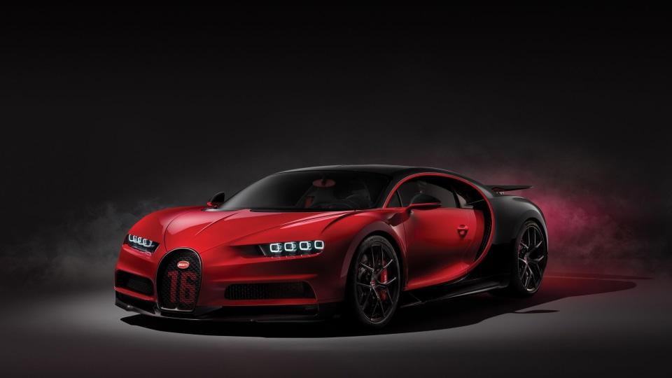 2018 Bugatti Chiron Sport.