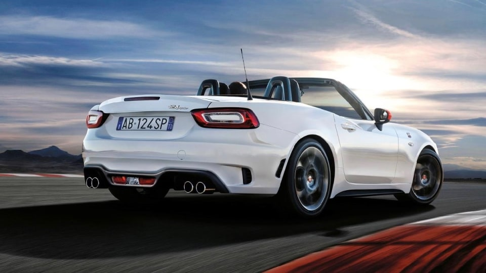 2018 Abarth 124 Spider Monza Limited Edition