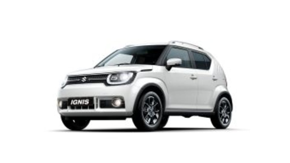 2017 Suzuki Ignis.