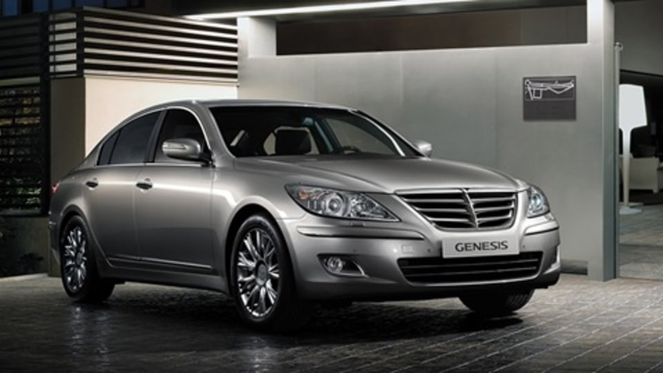 2009 Hyundai Genesis Awarded Top Safety Pick