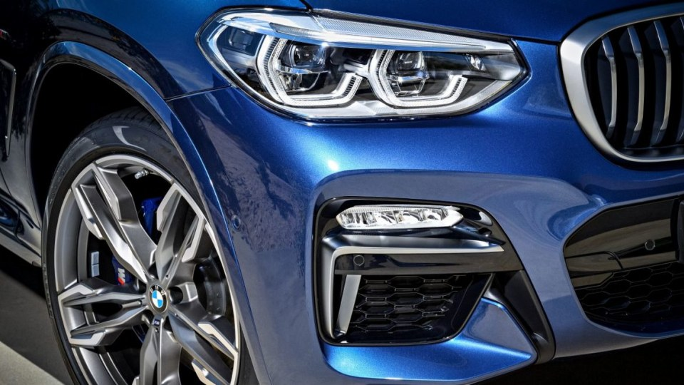 2018 BMW X3.