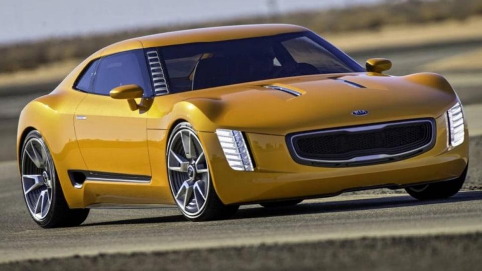 Kia GT4 Stinger concept.