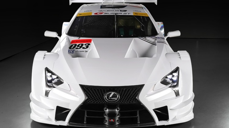 Lexus LC500-based race car will compete in the 2017 Japan Super GT500 series.