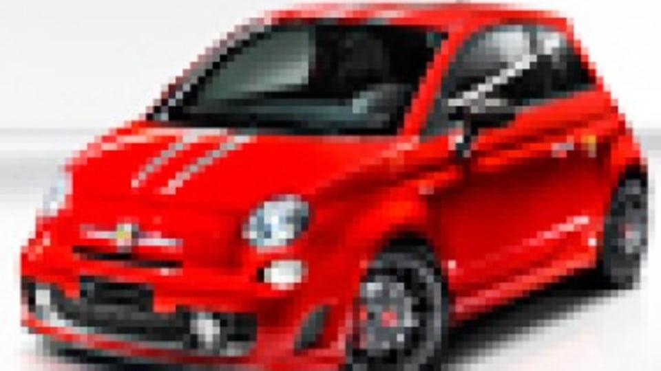 Fiat wearing Ferrari badge