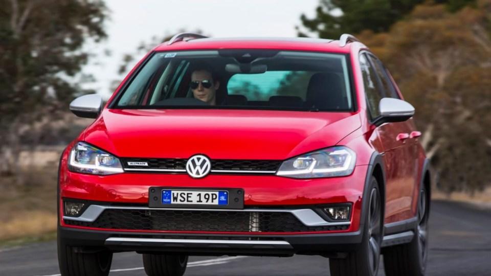 2017 Volkswagen Golf 7.5 Alltrack.