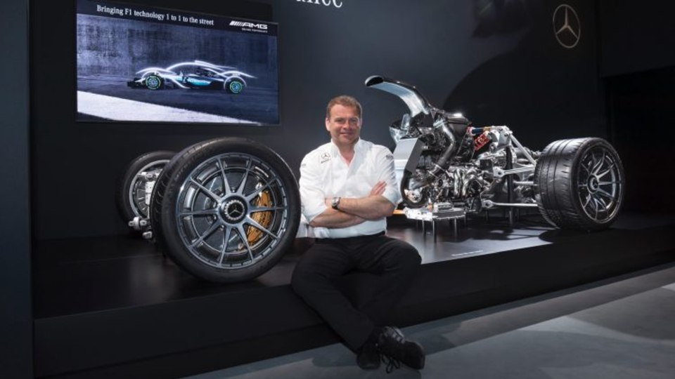 Mercedes-AMG chief Tobias Moers says the car will be the wildest machine in the brand's history.