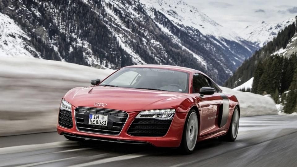 Audi R8 e-tron.