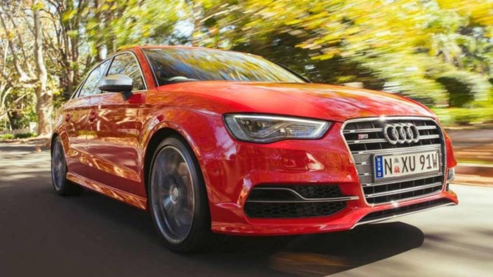 Audi S3 sedan.