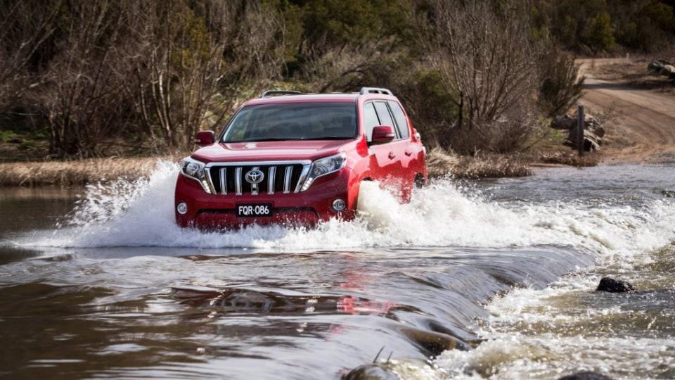 Toyota's Prado SUV benefits from a new diesel engine.