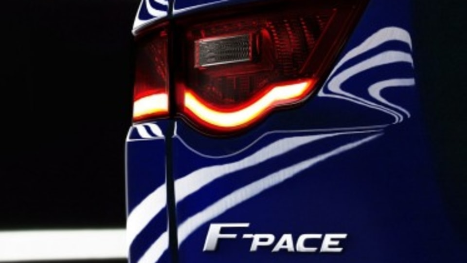 Jaguar SUV to be named F-Pace