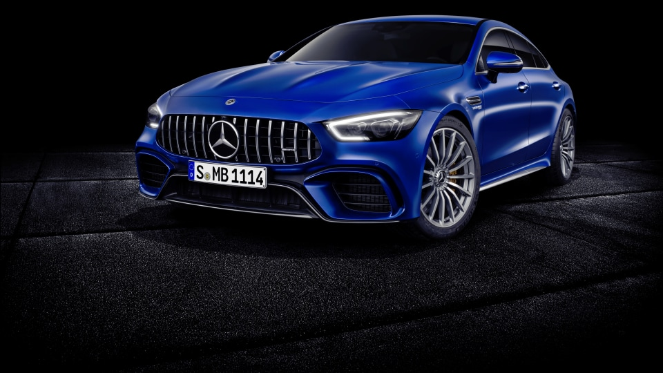Hybrid power mooted for new Mercedes-AMG GT 4-door