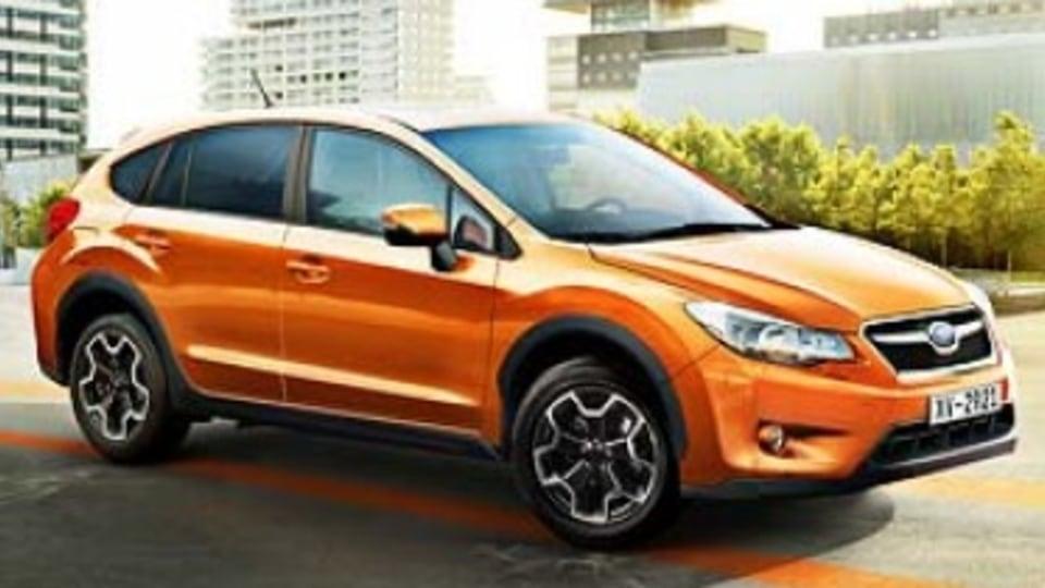 Subaru unveils baby SUV