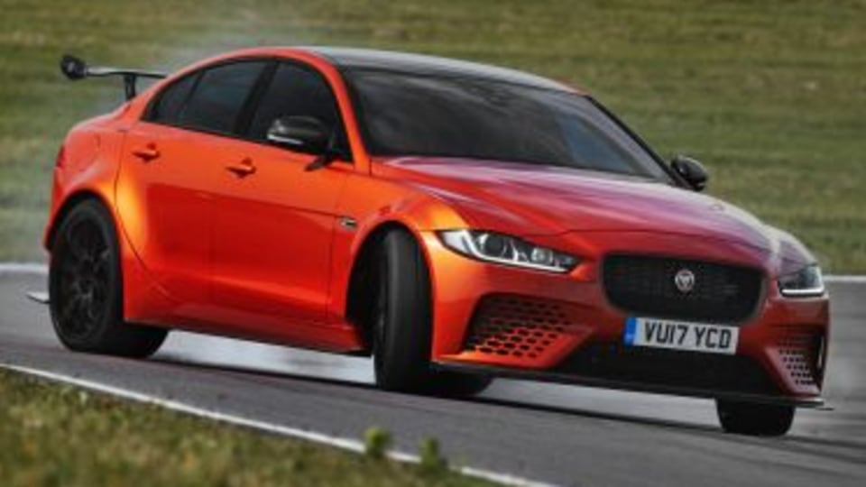 Jaguar reveals XE SV Project 8