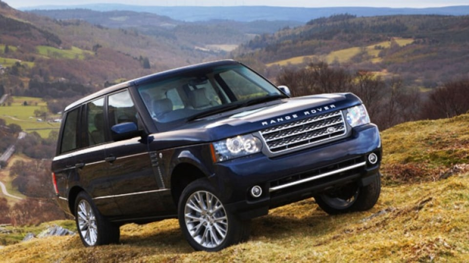 The Range Rover Vogue gains a new turbocharged V8 diesel