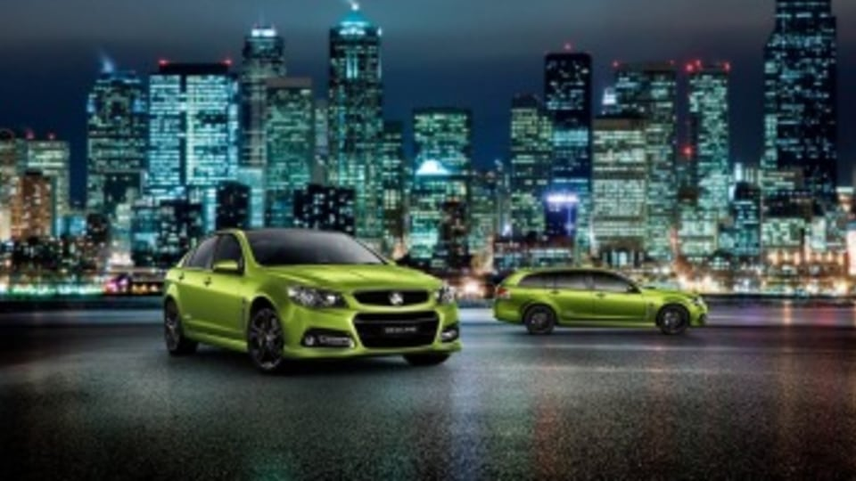 New lines: Holden has tweaked the rest of the Commodore range.