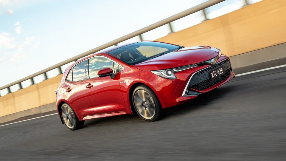 Toyota is considering turning the Corolla into a hybrid hot hatch.