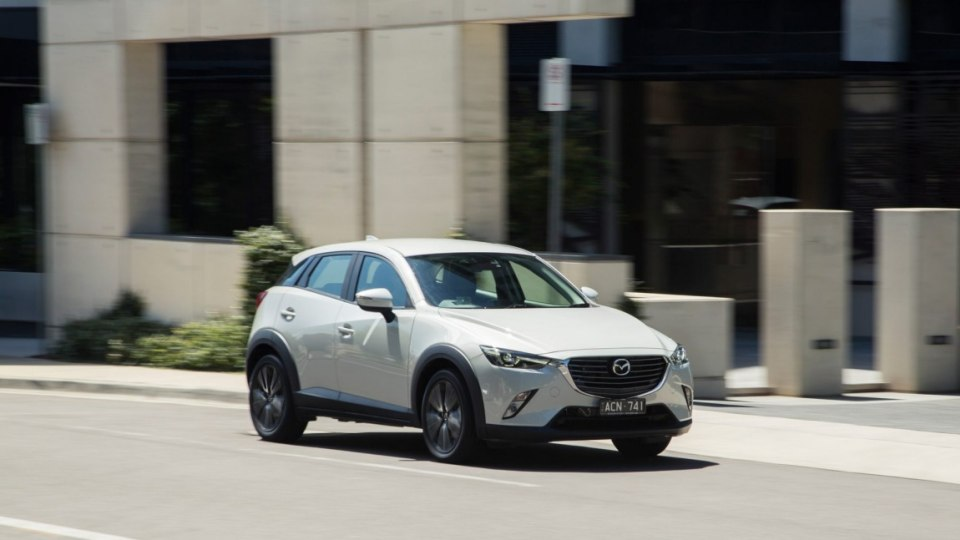 The Mazda2-based CX-3 baby SUV muscles in on the booming small SUV category.