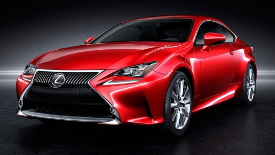 2014 Lexus RC Coupe To Feature New Four Coat Paint Finish