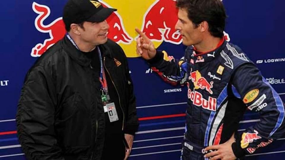 John Travolta and Mark Webber.