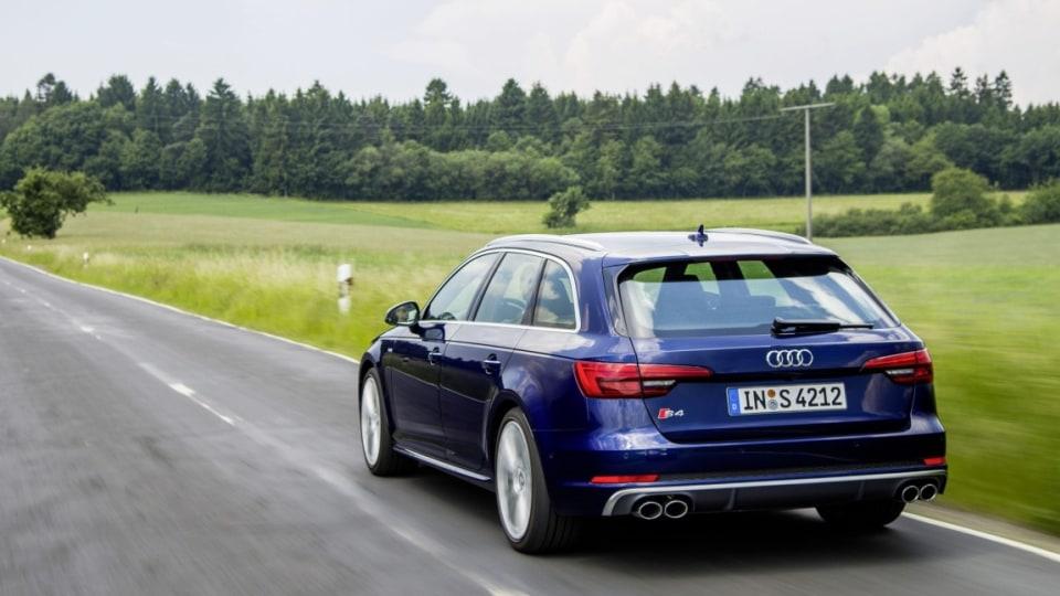 2016 Audi S4 Avant.