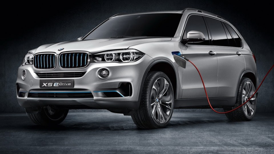BMW X5 Concept5 Adds Plug-in Hybrid eDrive System