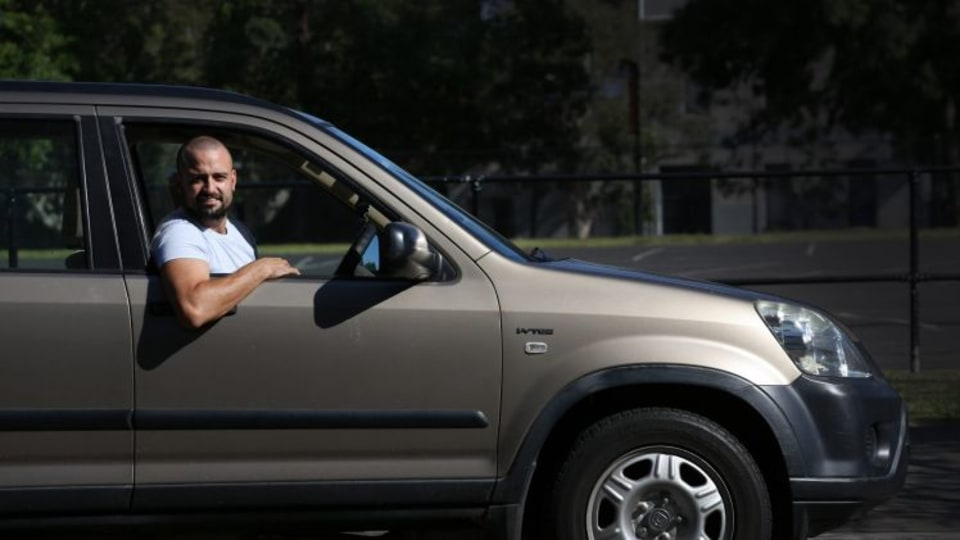 Star and car: Zac Drayson