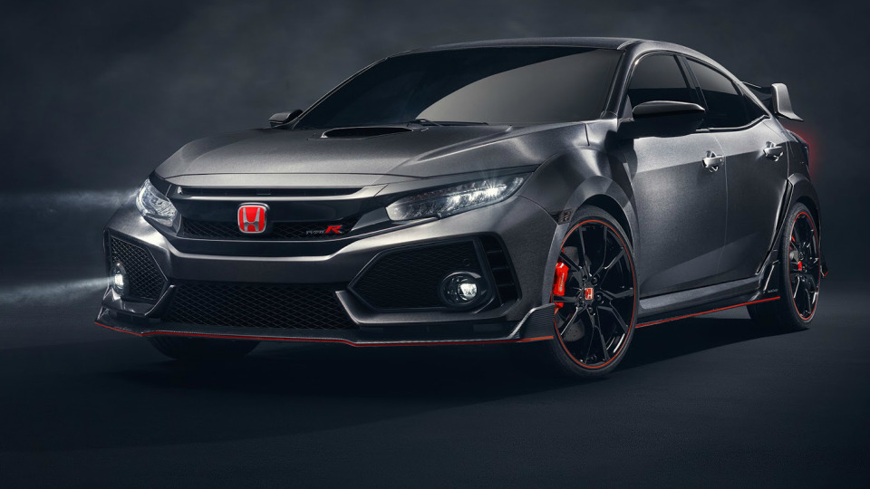 Finally! Honda's All-New Civic Type R Revealed In Paris