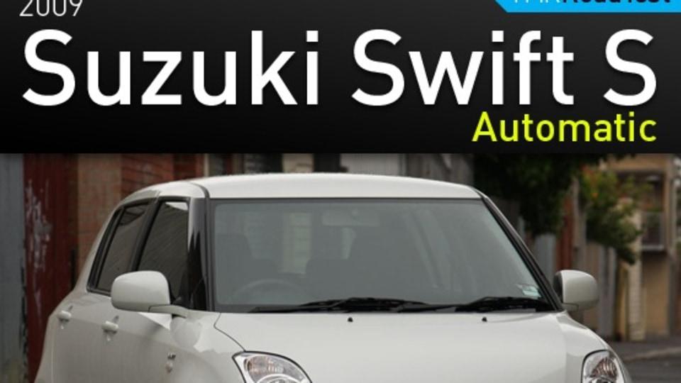2009 Suzuki Swift S Automatic Road Test Review