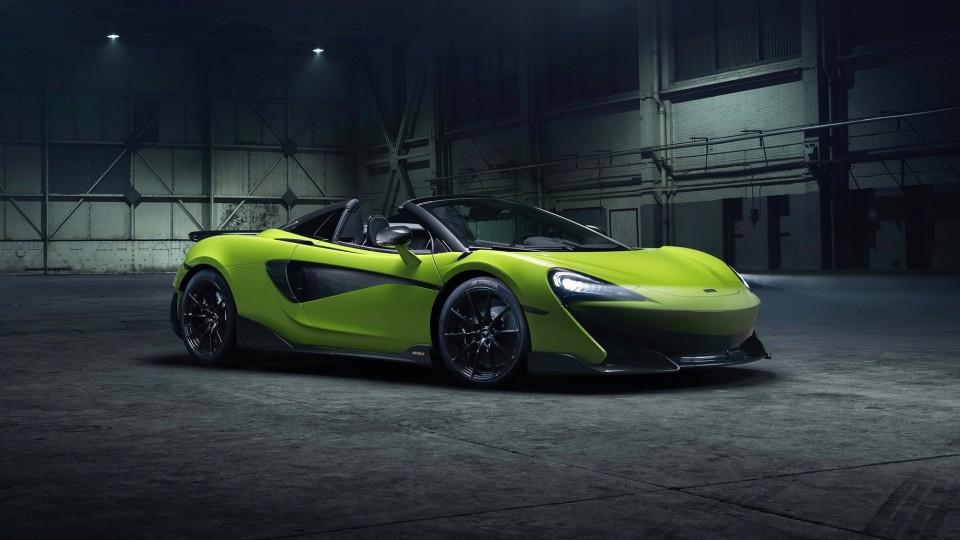 McLaren reveals stonking 600LT Spider