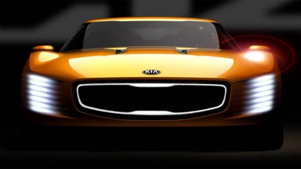 The Kia GT4 Stinger concept will be unveiled at the upcoming Detroit motor show.