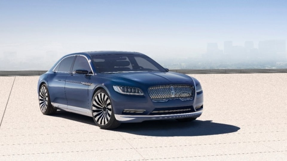 The Lincoln Continental concept.