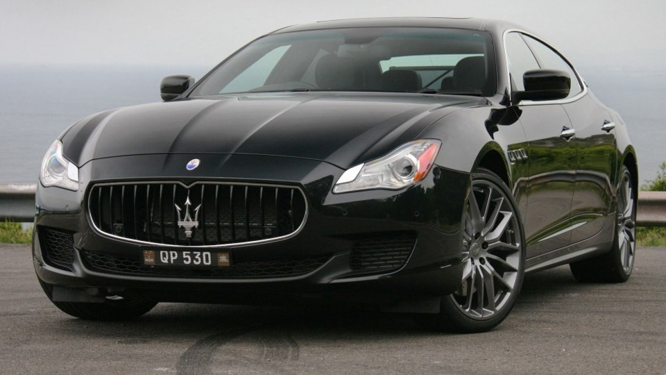 2014 Maserati Quattroporte GTS V8 Review