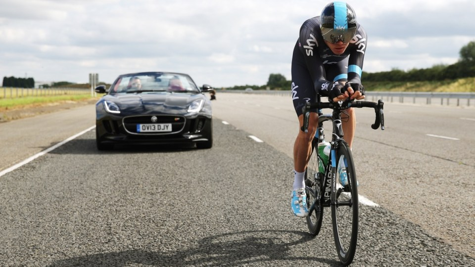 Jaguar promotes safe relationships between cars and cyclists.