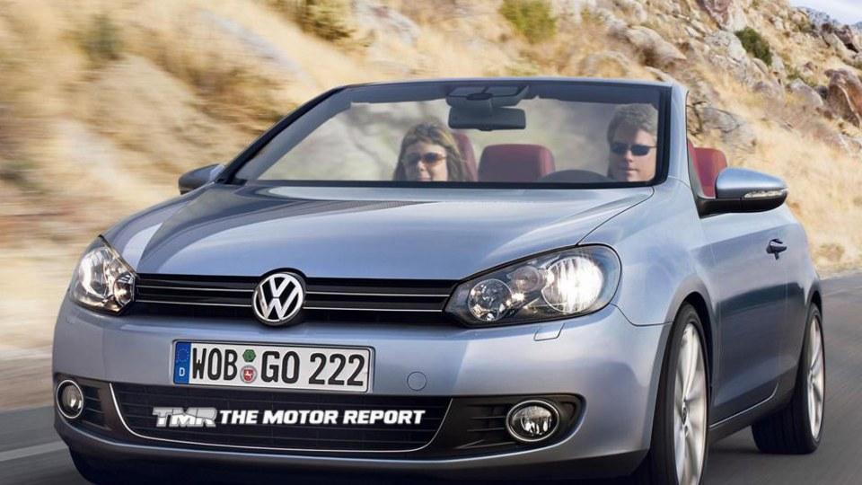 2012 Volkswagen Golf Cabrio Confirmed For Production