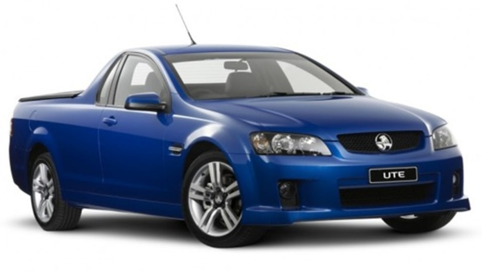 2010 Holden VE Commodore Ute Awarded 5-Star ANCAP Crash Safety Rating