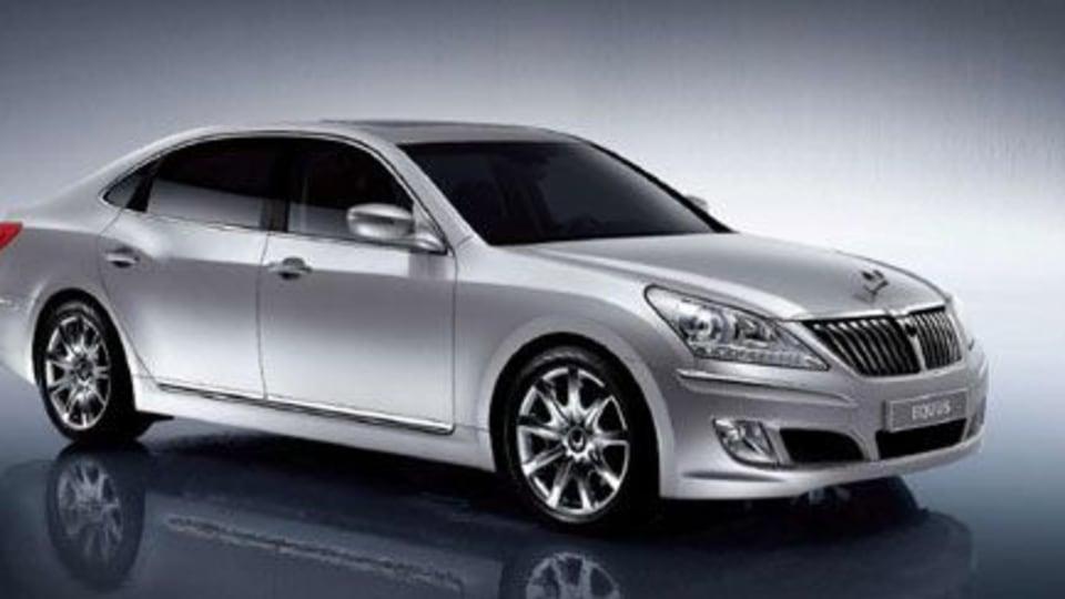 Hyundai Equus: More Pics Surface
