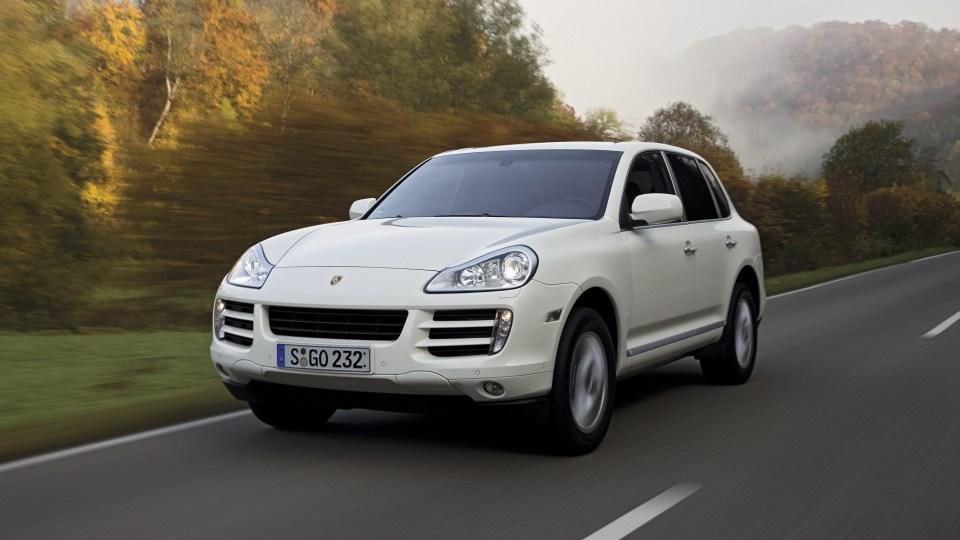 2009 Porsche Cayenne diesel.
