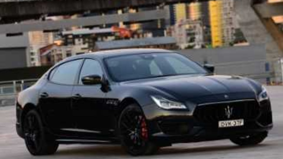 Maserati Quattroporte GTS has landed