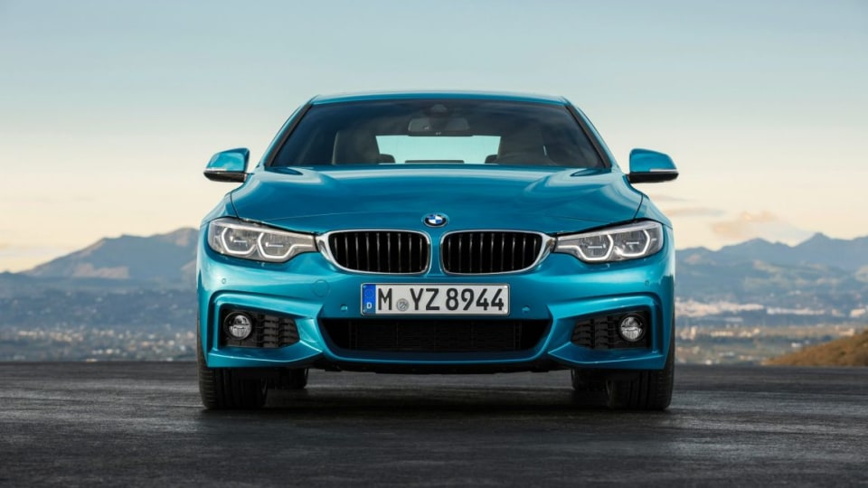 2017 BMW 4-Series Coupe.