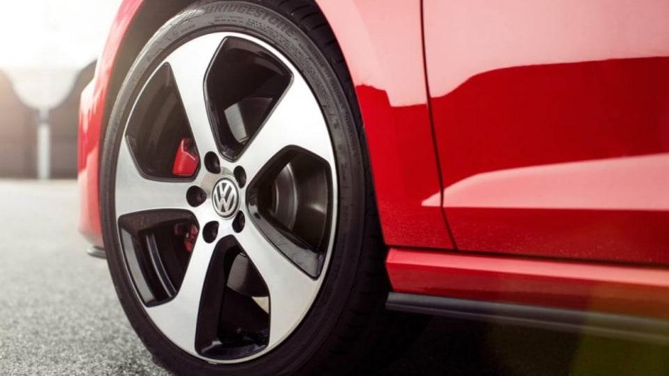 New Volkswagen Golf GTI Mk. VII.