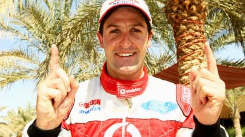 Ford's Jamie Whincup. Image: Getty images