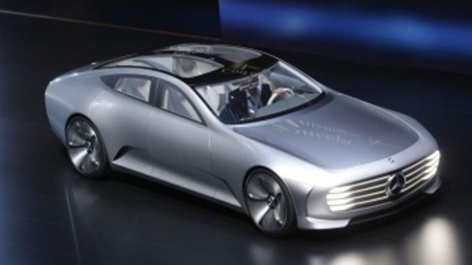 A Mercedes ''Digital Transformer''.